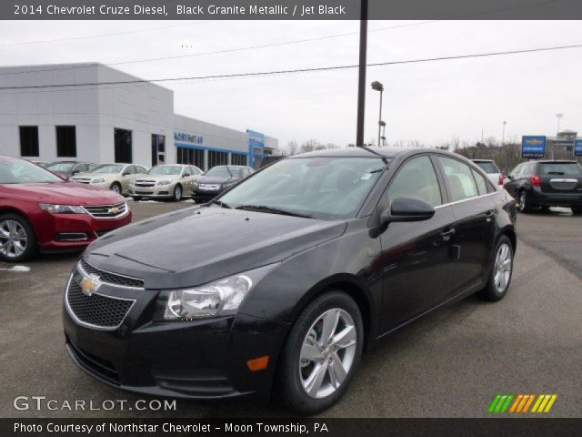 2014 Chevrolet Cruze Diesel in Black Granite Metallic
