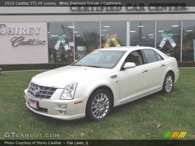 2010 Cadillac STS V6 Luxury in White Diamond Tricoat