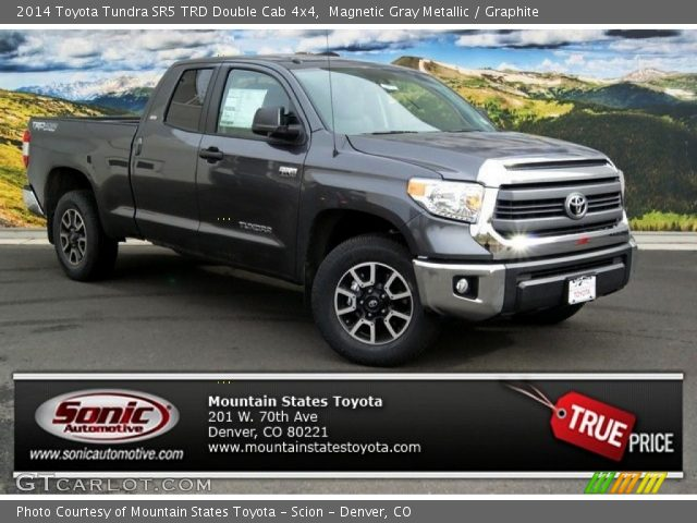 Magnetic Gray Metallic - 2014 Toyota Tundra SR5 TRD Double ...