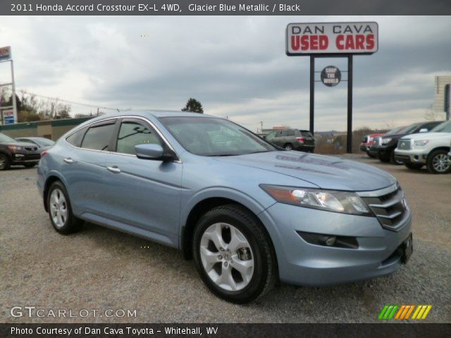 Glacier Blue Metallic 2011 Honda Accord Crosstour Ex L