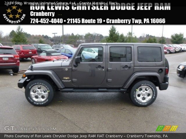 2014 jeep wrangler unlimited sahara 4x4 in granite metallic click to. Cars Review. Best American Auto & Cars Review