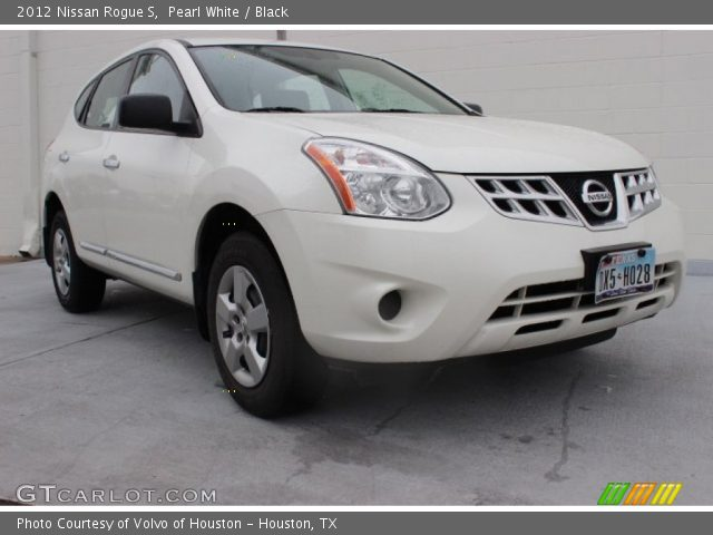 Pearl white 2012 nissan rogue s black interior - 2012 nissan rogue exterior colors ...