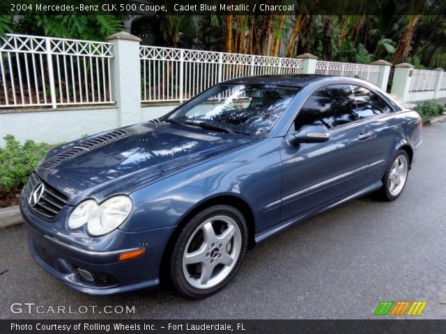 2004 Mercedes-Benz CLK 500 Coupe in Cadet Blue Metallic
