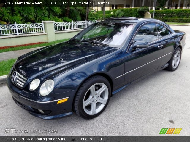 2002 Mercedes-Benz CL 500 in Black Opal Metallic
