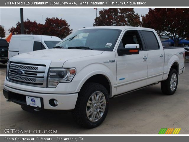 white platinum 2014 ford f150 platinum supercrew 4x4. Black Bedroom Furniture Sets. Home Design Ideas