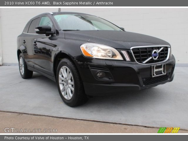 black sapphire metallic 2010 volvo xc60 t6 awd. Black Bedroom Furniture Sets. Home Design Ideas
