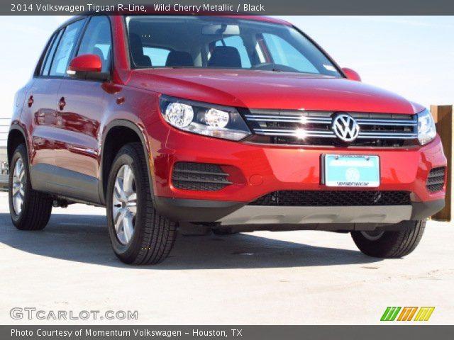 Wild Cherry Metallic - 2014 Volkswagen Tiguan R-Line ...
