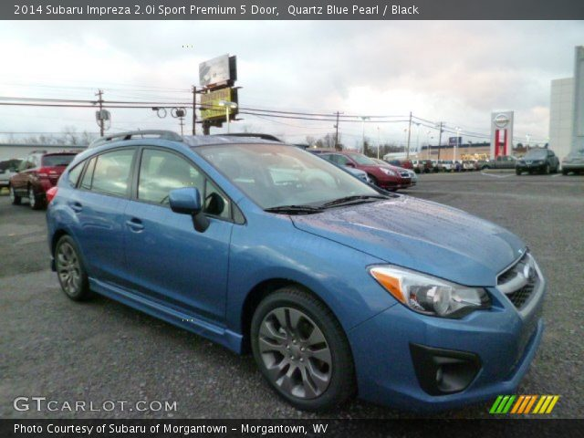 quartz blue pearl 2014 subaru impreza sport premium. Black Bedroom Furniture Sets. Home Design Ideas