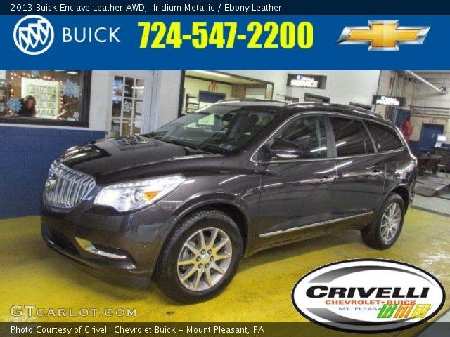 2013 Buick Enclave Leather AWD in Iridium Metallic