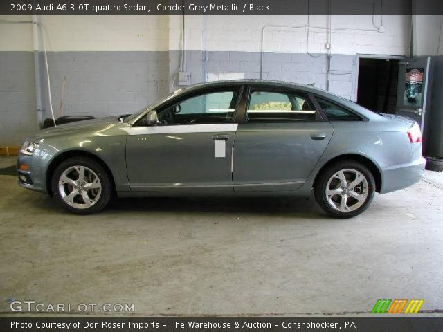 2009 Audi A6 3.0T quattro Sedan in Condor Grey Metallic. Click to see ...