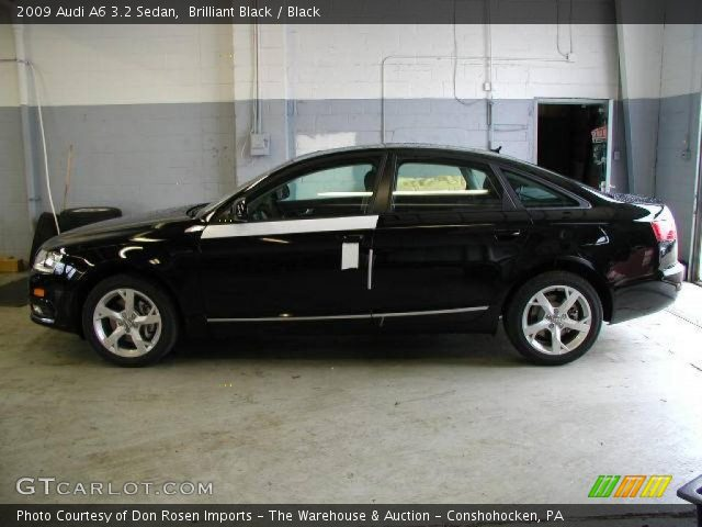 Brilliant Black - 2009 Audi A6 3.2 Sedan - Black Interior | GTCarLot ...