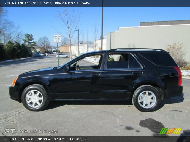 2004 Cadillac SRX V6 AWD in Black Raven