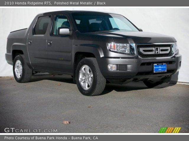 polished metal metallic 2010 honda ridgeline rts black interior vehicle. Black Bedroom Furniture Sets. Home Design Ideas