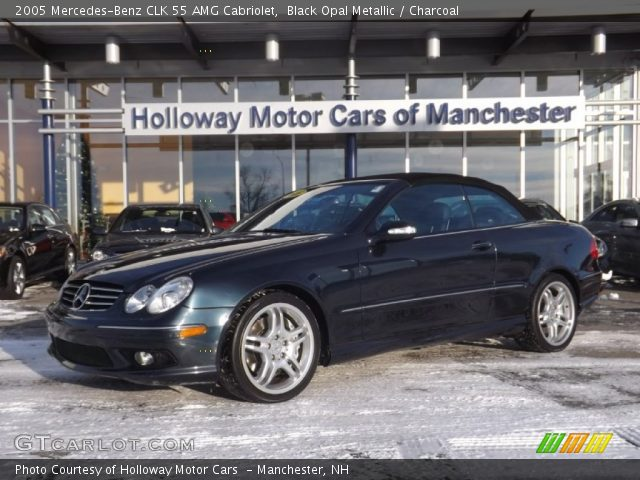 2005 Mercedes-Benz CLK 55 AMG Cabriolet in Black Opal Metallic