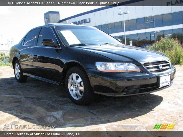 2001 Honda Accord EX Sedan in Nighthawk Black Pearl. Click to see ...