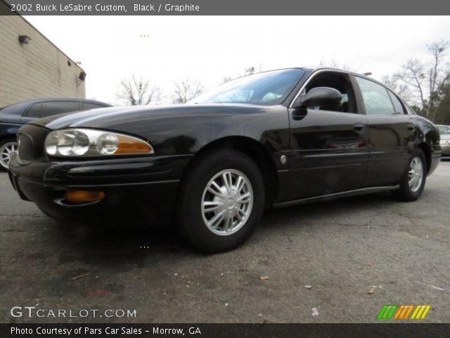 2002 Buick LeSabre Custom in Black