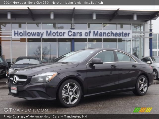 2014 Mercedes-Benz CLA 250 in Northern Lights Violet Metallic