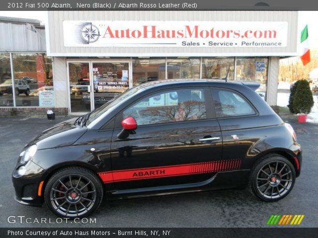 2012 Fiat 500 Abarth in Nero (Black)