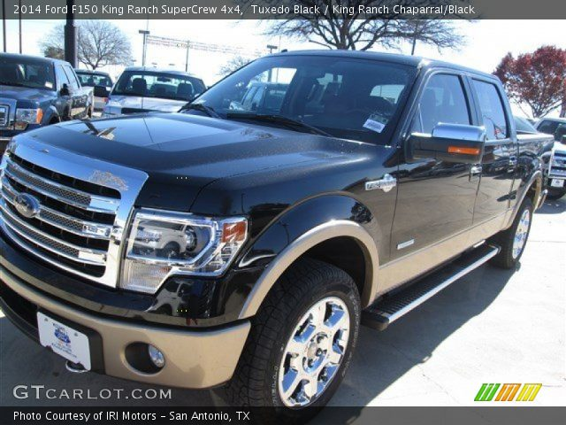 tuxedo black 2014 ford f150 king ranch supercrew 4x4. Black Bedroom Furniture Sets. Home Design Ideas
