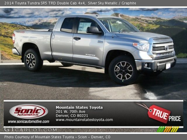 Silver Sky Metallic - 2014 Toyota Tundra SR5 TRD Double ...