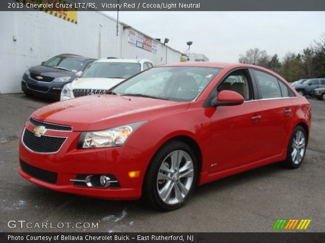 2013 Chevrolet Cruze LTZ/RS in Victory Red