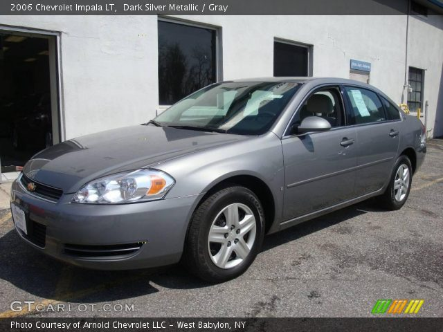 Dark Silver Metallic 2006 Chevrolet Impala Lt Gray Interior Vehicle Archive