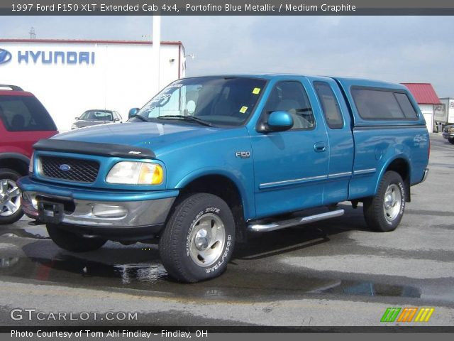portofino blue metallic 1997 ford f150 xlt extended cab. Black Bedroom Furniture Sets. Home Design Ideas