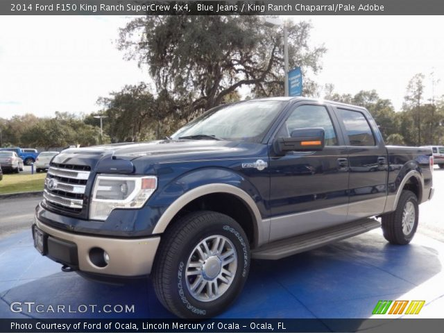 blue jeans 2014 ford f150 king ranch supercrew 4x4. Black Bedroom Furniture Sets. Home Design Ideas