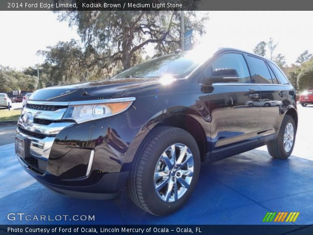 2014 Ford Edge Limited in Kodiak Brown