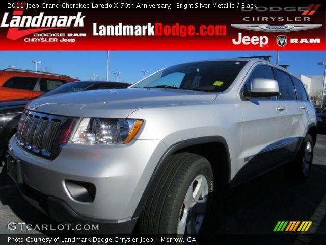 2011 Jeep Grand Cherokee Laredo X 70th Anniversary in Bright Silver Metallic
