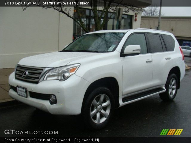 starfire white pearl 2010 lexus gx 460 black interior. Black Bedroom Furniture Sets. Home Design Ideas