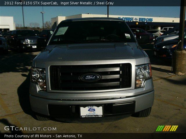 2012 Ford F150 STX SuperCab in Ingot Silver Metallic