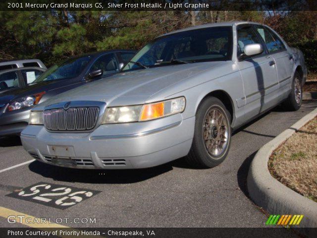 2001 Mercury Grand Marquis GS in Silver Frost Metallic