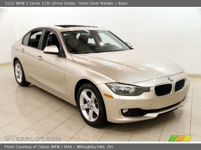 Orion Silver Metallic - 2013 BMW 3 Series 328i xDrive ...