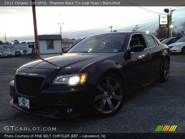 Phantom black tri coat pearl 2013 chrysler 300 srt8 - Chrysler 300 red interior for sale ...
