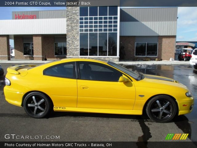 2004 Pontiac GTO Coupe in Yellow Jacket