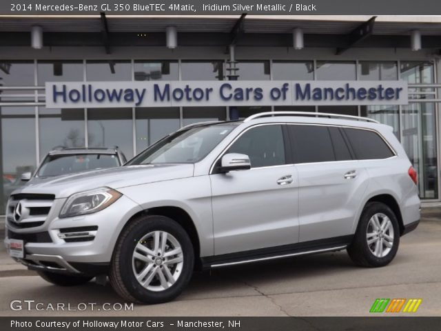 Iridium silver metallic 2014 mercedes benz gl 350 for 2014 mercedes benz gl350 bluetec 4matic