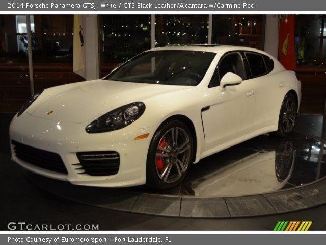 2014 Porsche Panamera GTS in White