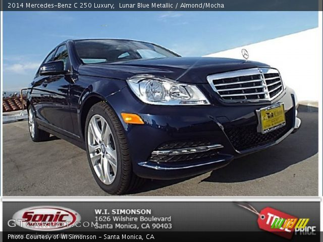 2014 Mercedes-Benz C 250 Luxury in Lunar Blue Metallic