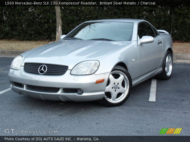1999 Mercedes Benz Slk 230 Kompressor Of Brilliant Silver Metallic 1999 Mercedes Benz Slk 230