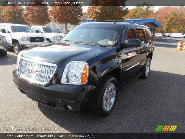 2008 GMC Yukon SLE 4x4 in Onyx Black