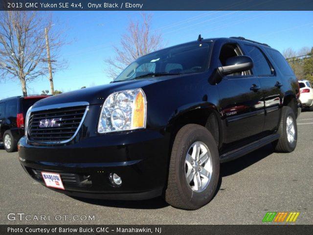 2013 GMC Yukon SLE 4x4 in Onyx Black
