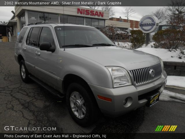 2002 Mercury Mountaineer AWD in Silver Frost Metallic