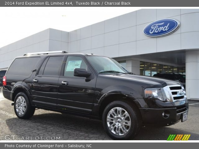 tuxedo black 2014 ford expedition el limited 4x4 with charcoal black. Cars Review. Best American Auto & Cars Review