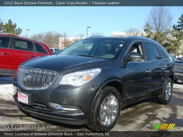 2013 Buick Enclave Premium in Cyber Gray Metallic