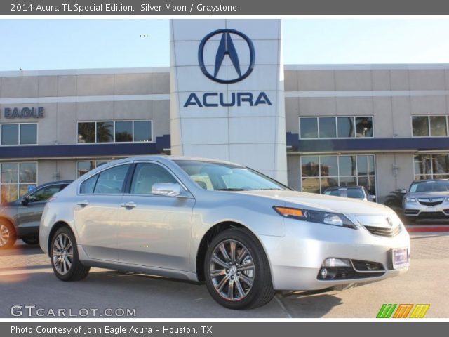 silver moon 2014 acura tl special edition graystone interior vehicle. Black Bedroom Furniture Sets. Home Design Ideas