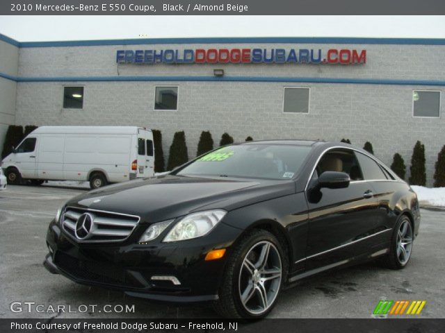 2010 Mercedes-Benz E 550 Coupe in Black