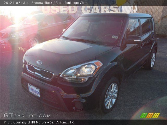 2012 Kia Soul + in Shadow Black