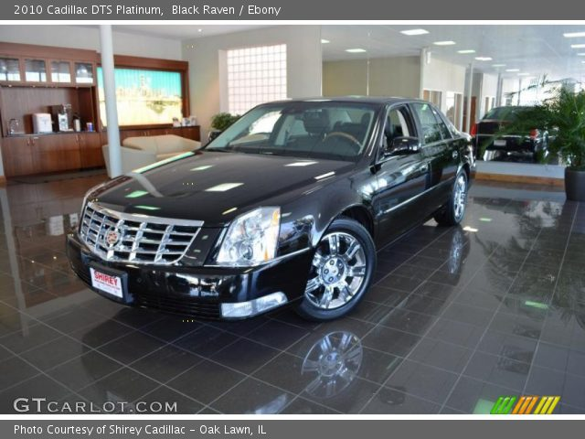 2010 Cadillac DTS Platinum in Black Raven