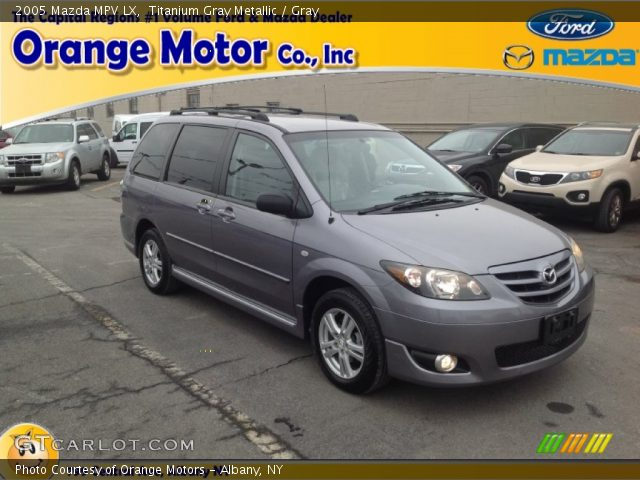2005 Mazda MPV LX in Titanium Gray Metallic